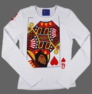 Queen Too Long Sleeve Shirt